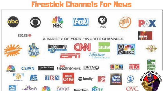 amazon Fire stick Channels for News