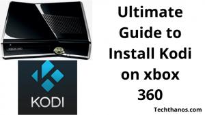 Install Kodi on xbox 360