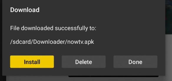 download & install now tv app