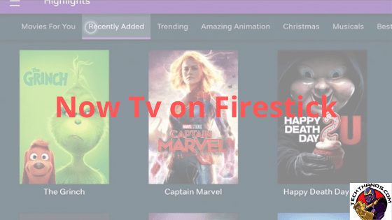 now tv on firestick