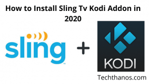 install kodi addons on sling tv