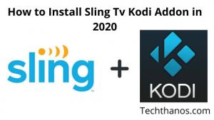 install kodi addons on sling tv