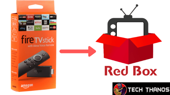 Install Redbox Tv App on FireStick