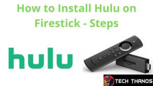 Is Hulu on Firestick
