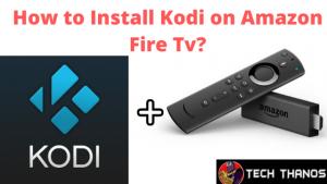 install Kodi on Amazon