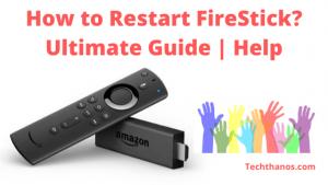 restart firestick