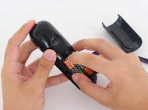 firestick remote battery remove