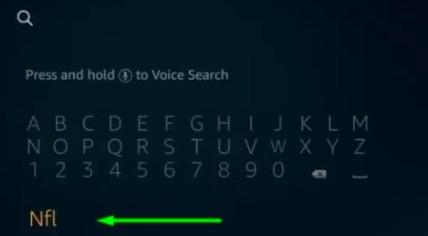 search box firestick