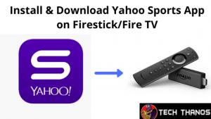 Yahoo Sports App on Firestick