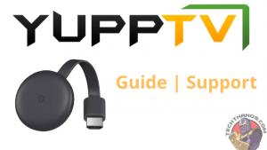 Yupptv on Chromecast
