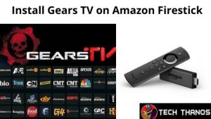 Install Gears TV on Amazon Firestick