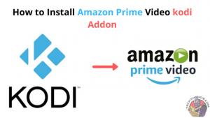 Amazon Prime Video kodi Addon
