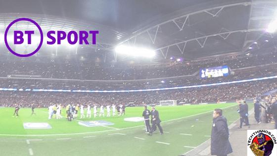 watch BT Sport on tv