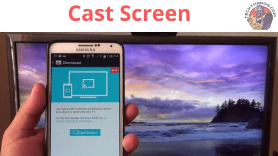 mirroring cast screen