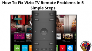 Fix Vizio TV Remote Problems
