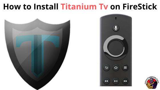 Titanium Tv on FireStick