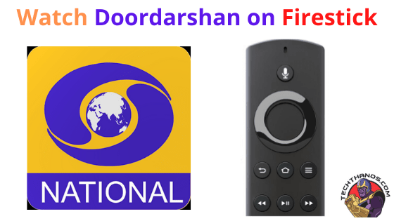 Doordarshan on Firestick