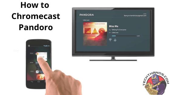 How to Chromecast Pandoro
