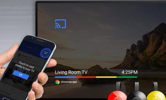 chromecast without wifi iphone
