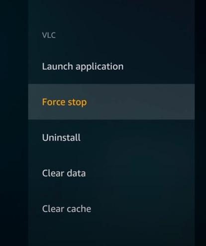 uninstall firestick apps