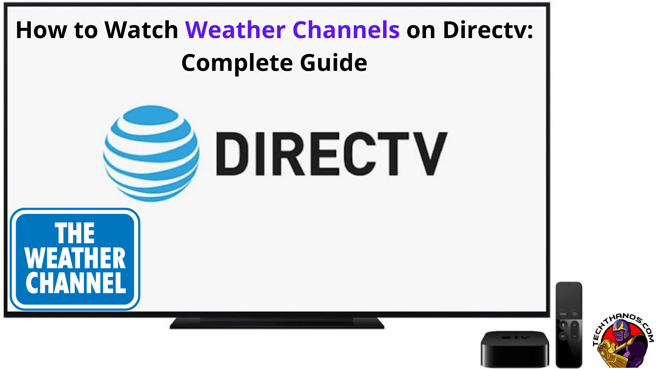 Weather Channels on Directv