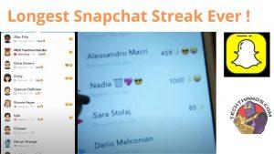 Longest Snapchat Streak Ever