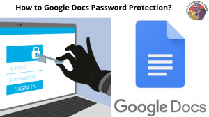 google docs password