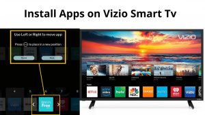 Install Apps on Vizio Smart Tv