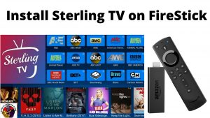 Install Sterling TV on FireStick