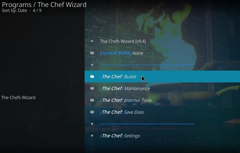 chef builds