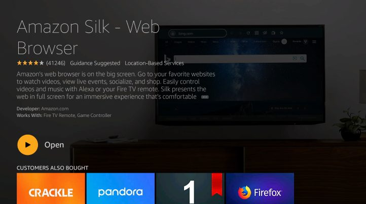 silk browser