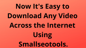 Small seo tools.